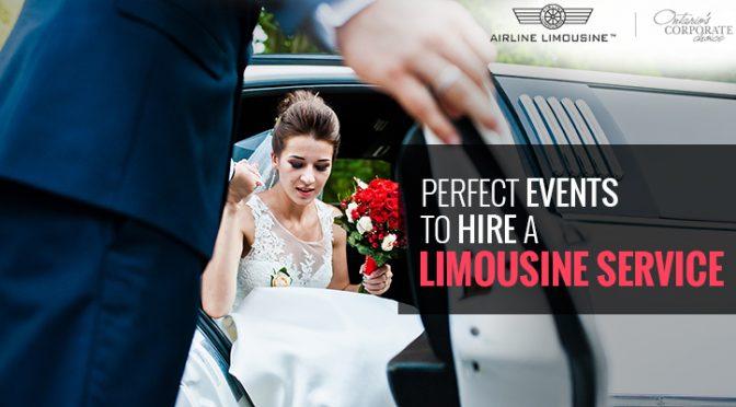 Events to Hire a Limousine Service