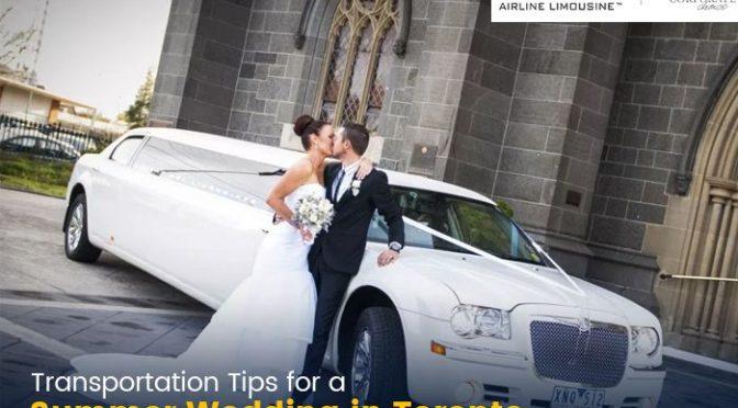 Transportation Tips for a Summer Wedding in Toronto
