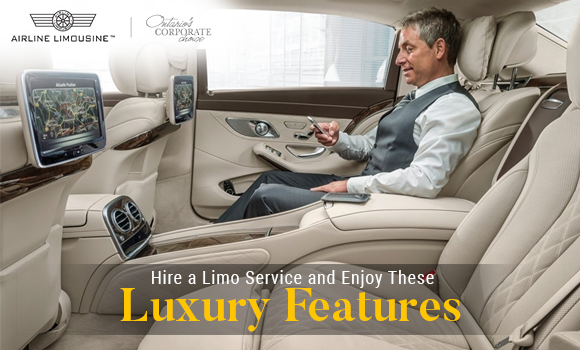 Hire a Limo Service and Enjoy These Luxury Features