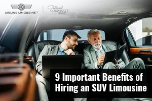 9 Important Benefits of Hiring an SUV Limousine