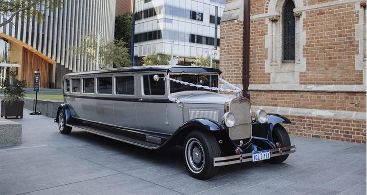 Classic Vintage Limousine