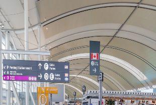 Toronto Pearson Airport Restaurant Area