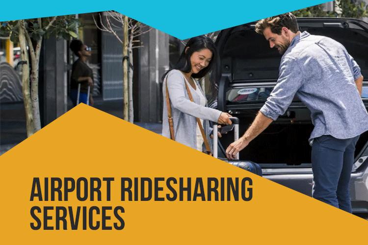 Airport ridesharing services
