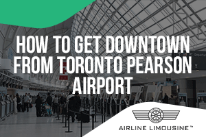 taxi to Pearson airport from downtown